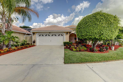 Palm Beach Gardens Single Family Home For Sale: 208 Woodsmuir Court