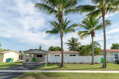 Sunrise Single Family Home For Sale: 5865 NW 14th Street