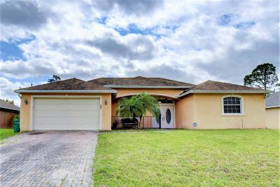 Port Saint Lucie Single Family Home For Sale: 2009 SW Catalina Terrace