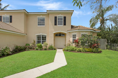 Jupiter Single Family Home For Sale: 938 Marlin Drive