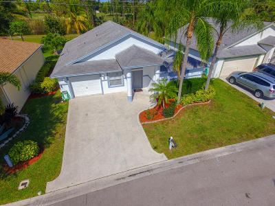 Greenacres Single Family Home For Sale: 1241 Olympic Circle