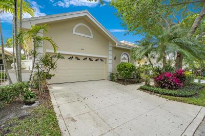 Palm Beach Gardens Single Family Home For Sale: 260 W Canterbury Drive W