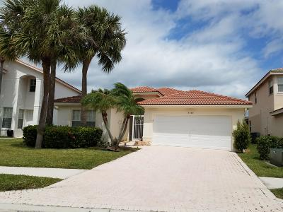 Boynton Beach Single Family Home For Sale: 3587 Chesapeake Circle