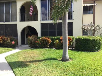 Greenacres Condo For Sale: 306 Knotty Pine Circle #A-1