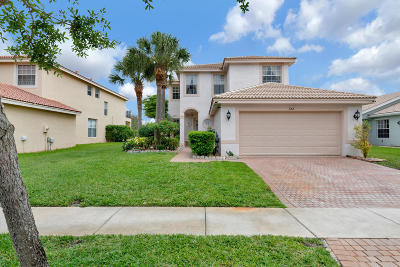 Royal Palm Beach Single Family Home For Sale: 632 Garden Cress Trail