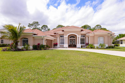 Port Saint Lucie Single Family Home Contingent: 8063 Kiawah Trace