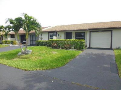 Delray Beach Single Family Home Contingent: 15803 Forsythia Circle