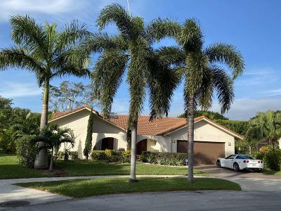 Boynton Beach Single Family Home For Sale: 2563 SW 23rd Cranbrook Drive