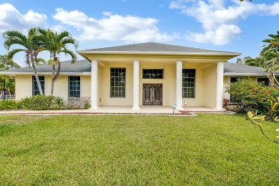 Loxahatchee Single Family Home For Sale: 18469 48th Avenue