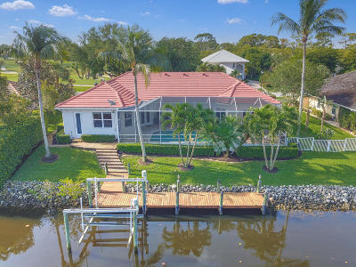 Tequesta Single Family Home For Sale: 8798 SE Riverfront Terrace