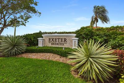 Wellington Single Family Home For Sale: 4757 Exeter Estate Lane
