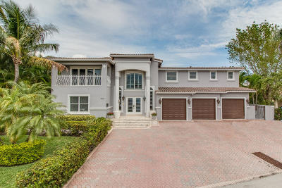 Boynton Beach Single Family Home For Sale: 653 Castilla Lane