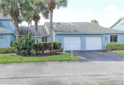 Lake Worth Single Family Home Contingent: 3787 Island Club Circle