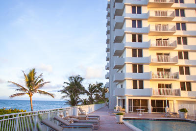 Highland Beach Condo For Sale: 3221 S Ocean Blvd #702