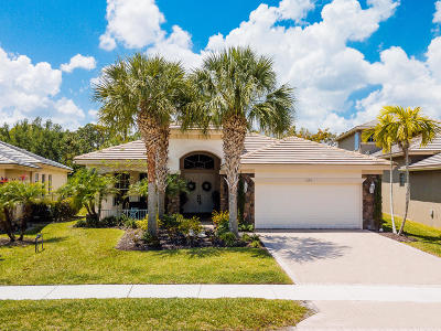 Palm Beach Gardens Single Family Home Contingent: 11178 Osprey Lake Lane