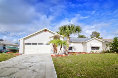 St Lucie County Single Family Home Contingent: 1698 SE Lorraine Street