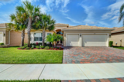 Boynton Beach Single Family Home For Sale: 8213 Alpine Ridge Road