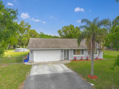 Loxahatchee Single Family Home For Sale: 16245 E Burns Drive