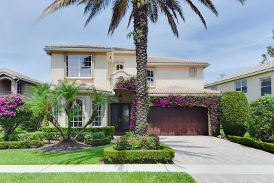 Boynton Beach Single Family Home For Sale: 8561 Breezy Oak Way