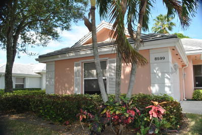 Palm Beach Gardens Single Family Home Contingent: 8599 Doverbrook Drive