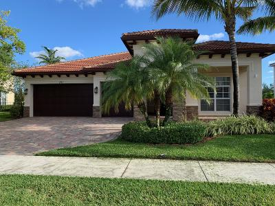 Jupiter Single Family Home Contingent: 151 Whale Cay Way
