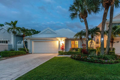 Palm Beach Gardens Single Family Home For Sale: 19 Selby Lane