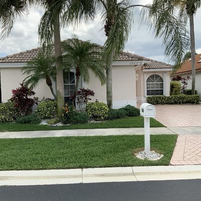 Boynton Beach Single Family Home For Sale: 6066 Bay Isles Drive