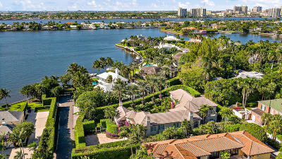 Palm Beach FL Single Family Home For Sale: $12,900,000