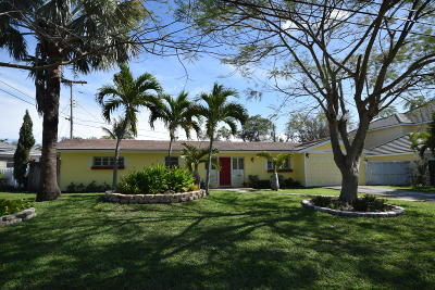 Delray Beach Single Family Home For Sale: 214 Enfield Road