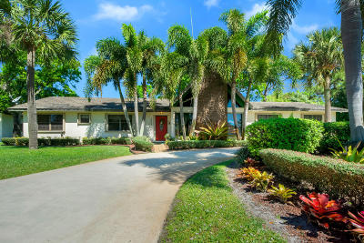 Delray Beach Single Family Home For Sale: 5053 Beechwood Road