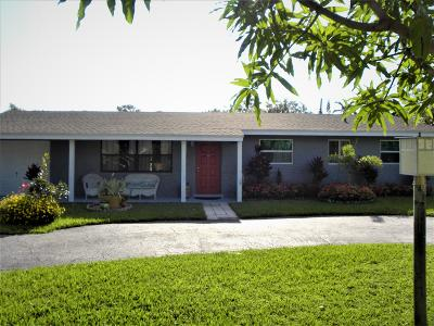 Delray Beach Single Family Home For Sale: 14440 Franwood Place