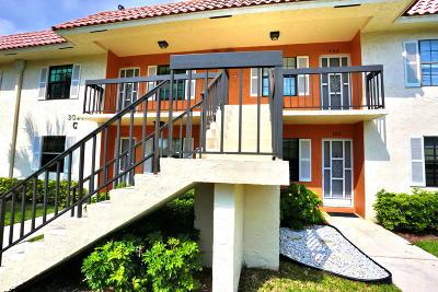 Palm Beach County Condo For Sale: 3020 Florida Boulevard #205-C