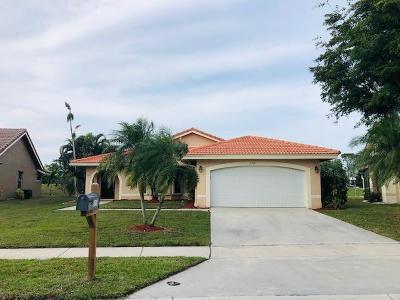 Boynton Beach Single Family Home For Sale: 5319 Helene Circle