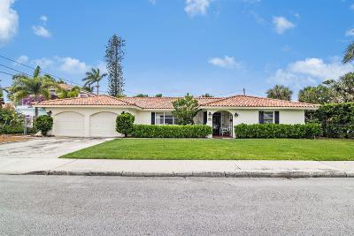 West Palm Beach Single Family Home For Sale: 7911 Flagler Court