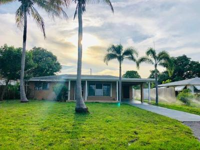Delray Beach Single Family Home Contingent: 918 SE 3rd Avenue