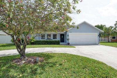 Delray Beach Single Family Home Contingent: 1520 Cormorant Road