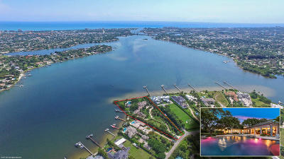 Jupiter Single Family Home For Sale: 5241 Pennock Point Road