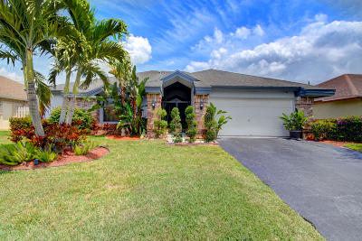 Boca Raton Single Family Home For Sale: 18204 181st Circle S