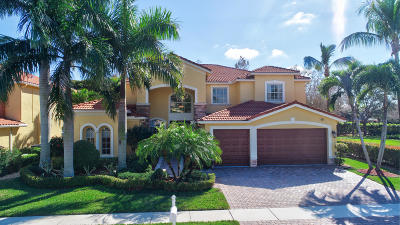 Lake Worth Single Family Home For Sale: 9634 Campi Drive