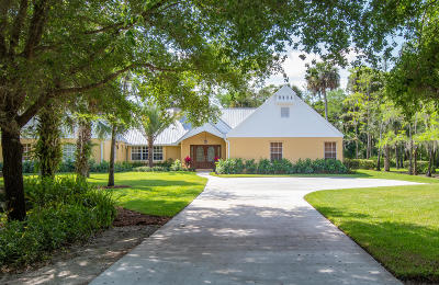 Loxahatchee Single Family Home For Sale: 1268 Gallop Drive