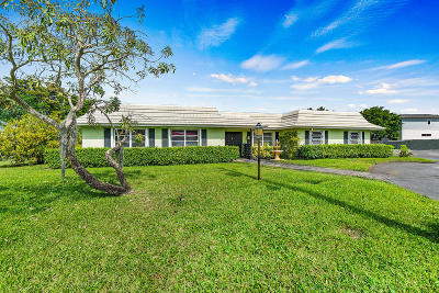 Delray Beach Single Family Home For Sale: 2529 Swinton Avenue