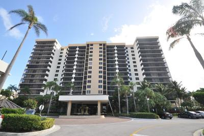Highland Beach Condo For Sale: 3400 S Ocean Boulevard #10h