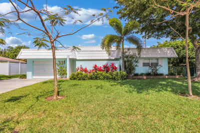 Singer Island Single Family Home For Sale: 1150 Singer Drive
