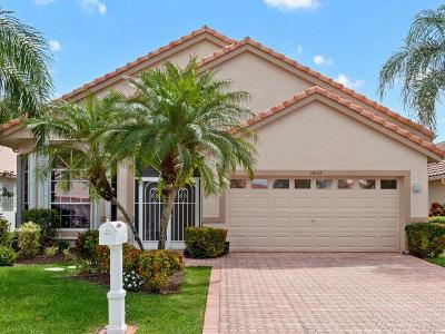 Delray Beach Single Family Home For Sale: 14072 Glenlyon Court