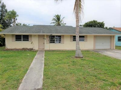 Stuart Single Family Home For Sale: 1054 NW 12th Terrace
