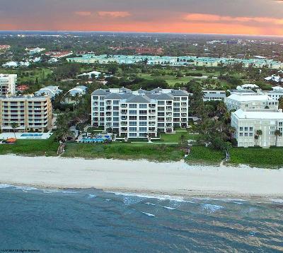 Gulf Stream, Ocean Ridge Condo For Sale: 4001 Ocean Boulevard #604