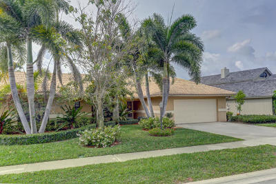 Palm Beach Gardens Single Family Home For Sale: 2511 Monaco Terrace