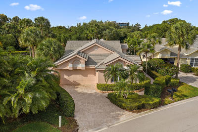 Jupiter Single Family Home For Sale: 3900 Shearwater Drive