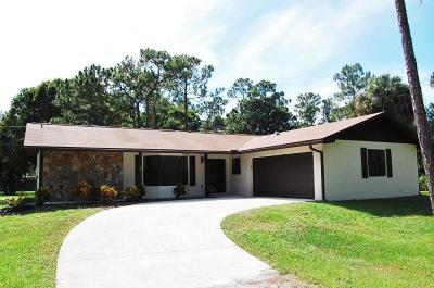 Jupiter Single Family Home For Sale: 15699 116th Terrace