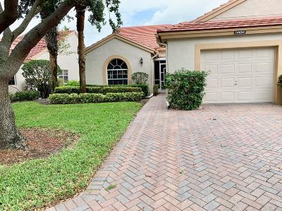 Delray Beach Single Family Home For Sale: 14454 Via Royale